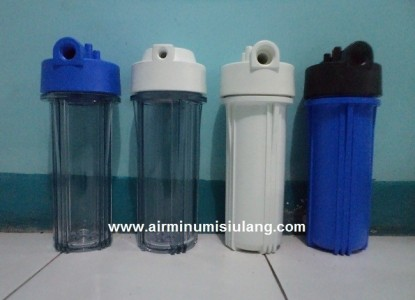 Housing Filter Air Ukuran 10 inch with Double Seal, Lebih Tahan dari Kebocoran / Rembesan